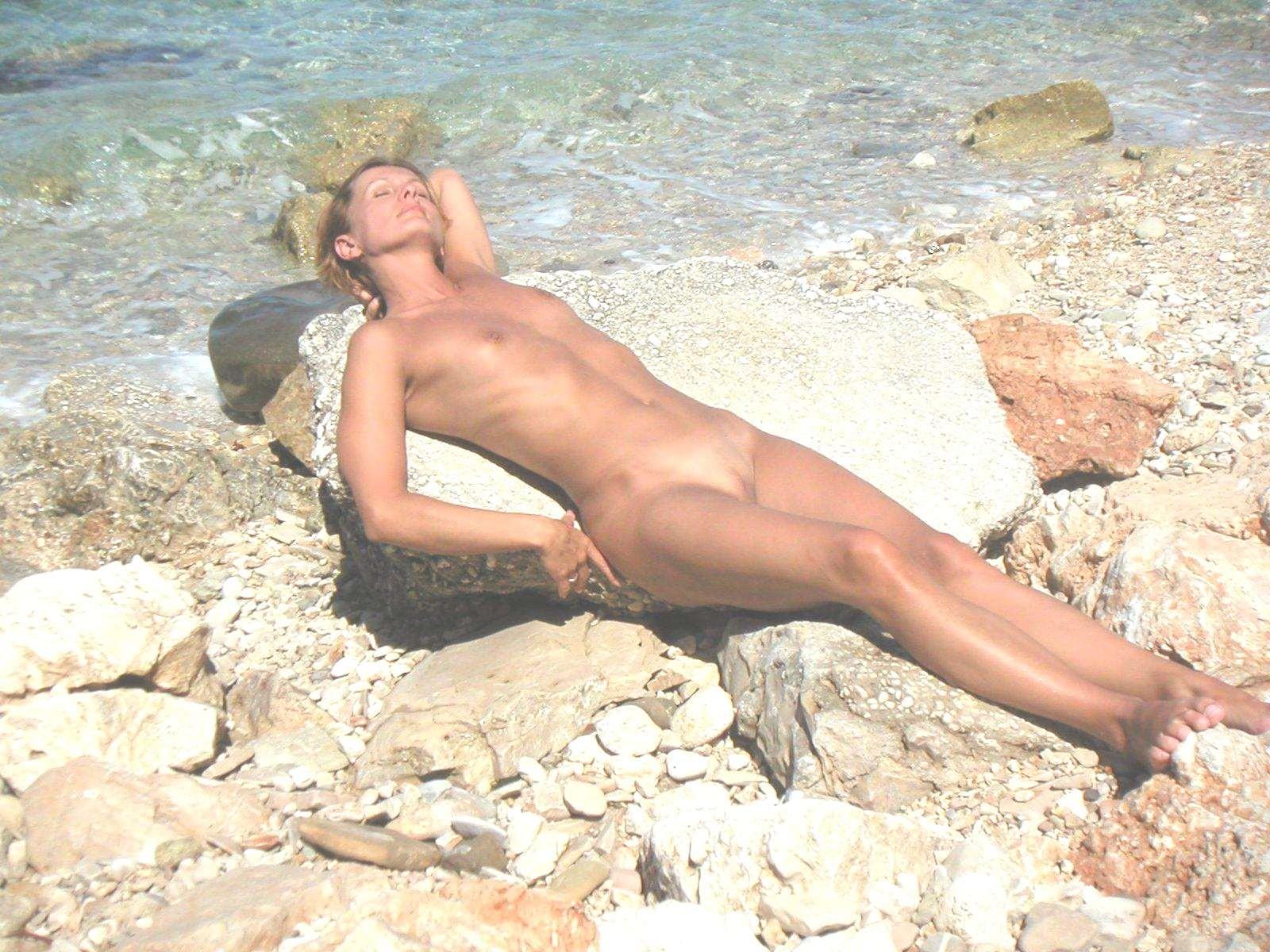 Порно нудисты, секс на пляже