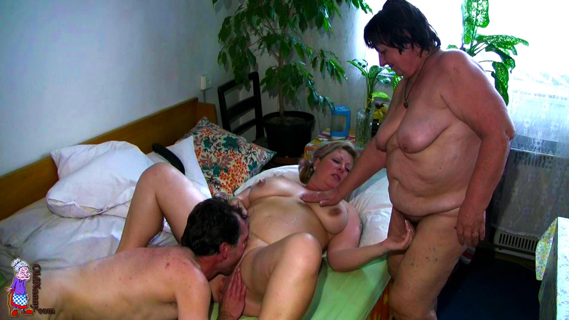 Порно секс бабушек